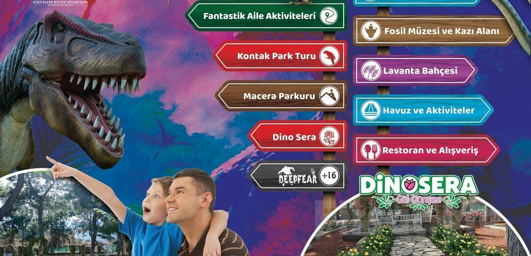 Göynük DinoPark'ta Tarih Öncesine Yolculuk, Serpme Kahvaltı ve Eğlence Bileti