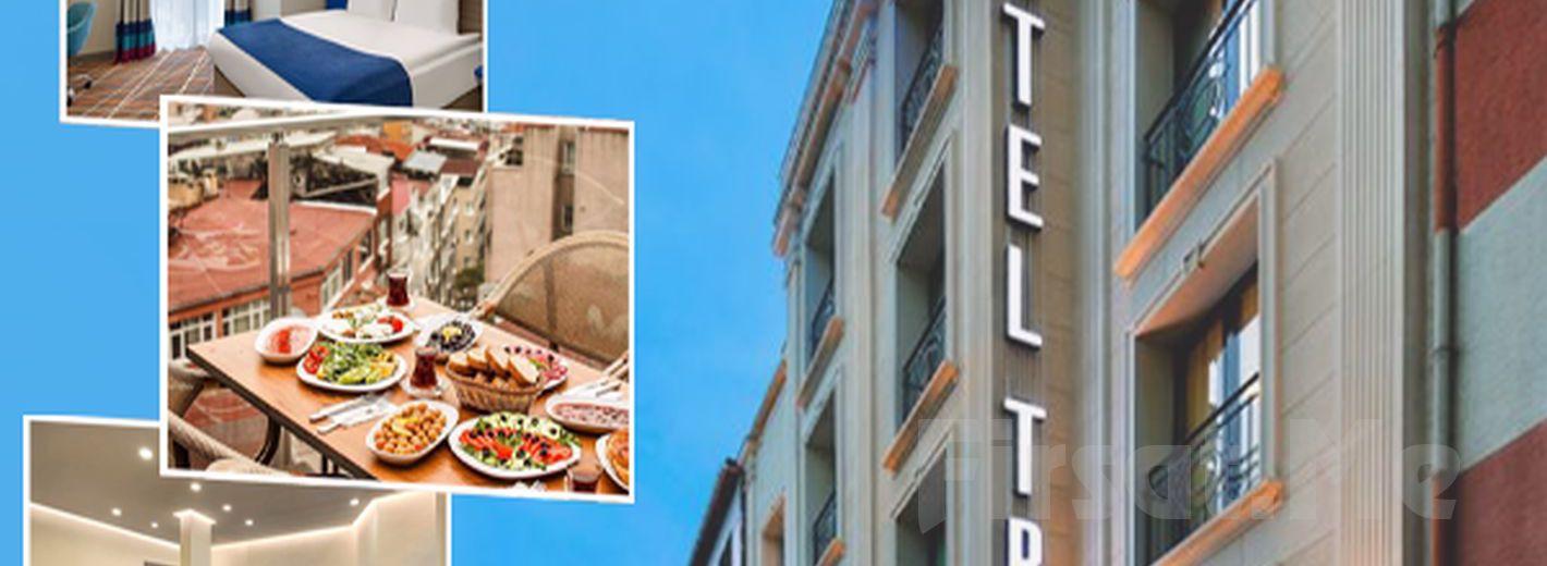 Taksim Tryp by Wyndham İstanbul Hotel'de 2 Kişi 1 Gece Konaklama, Kahvaltı ve SPA Kullanımı