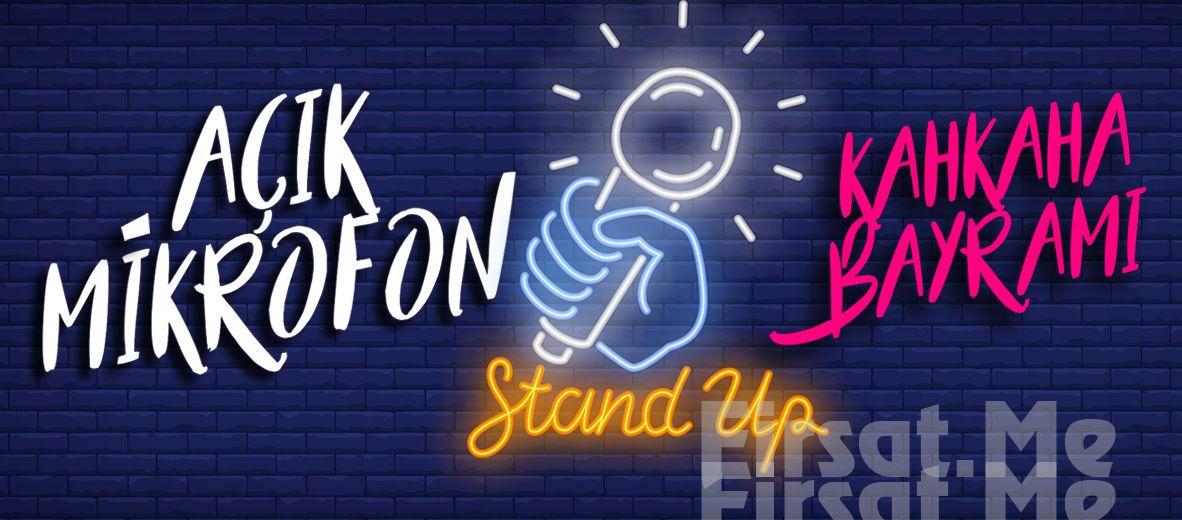 Komedyenlerin Gülme İşini Bayrama Dönüştürdüğü 'Kahkaha Bayramı' Stand Up Gösteri Bileti