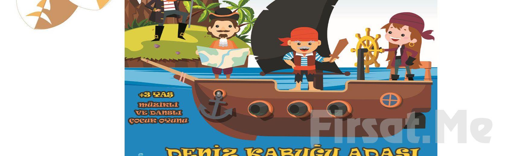 Hazine Peşinde Soluksuz Bir Macera 'Deniz Kabuğu Adası' Çocuk Tiyatro Bileti