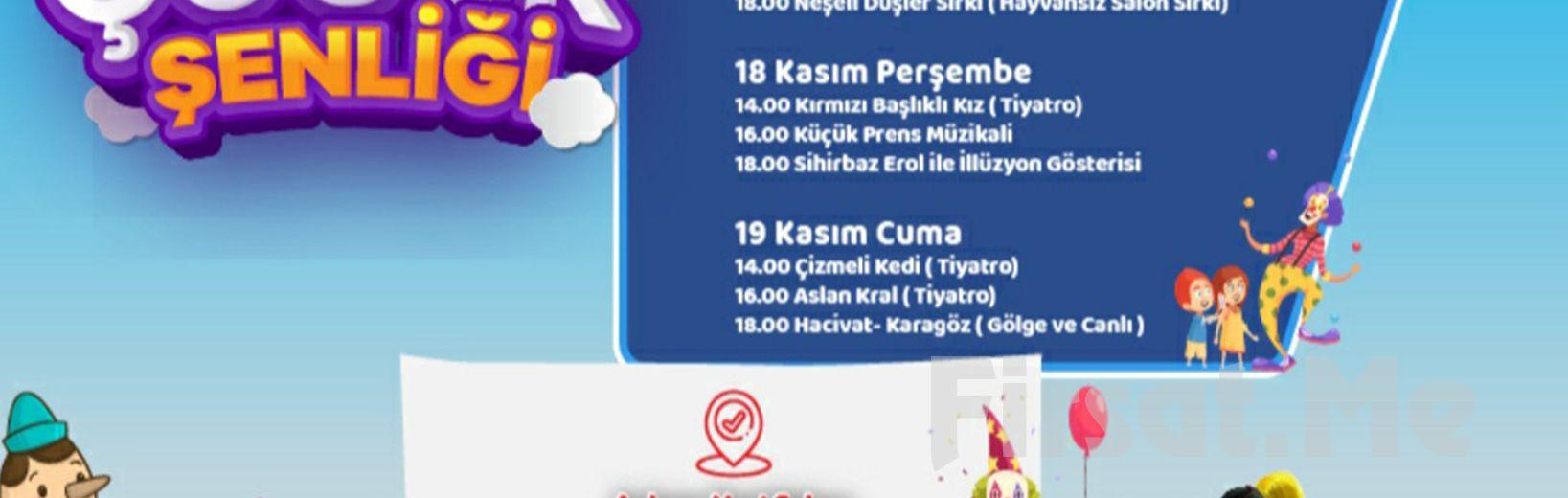 Ankara Yeni Sahne'de Başkent Çocuk Şenliği Seans, Günlük ve Kombine Biletleri