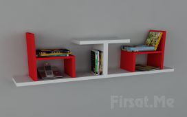 Dekorister Modüler Mobilya'dan, 'Dekorister Sense Kitaplık' Fırsatı!