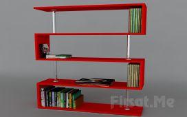Dekorister Modüler Mobilya'dan, Dekorister Sunrise Kitaplık Fırsatı