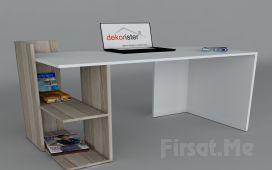 Dekorister Modüler Mobilya'dan, 3 Ayrı Renkte 'Dekorister Arrival Çalışma Masası' Fırsatı!