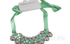 Şıklığnızın Tamamlayıcısı Fashion Jewelry İnci ve Taş Karışımı Gösterişli Kolye Fırsatı!