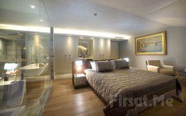 Gayrettepe Taba Luxury Suites İstanbul'un Modern ve Konforlu Odalarında 2 Kişi 1 Gece Konaklama, Kahvaltı, SPA Kullanım Keyfi