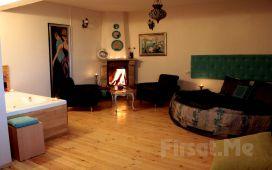 Ağva Villa Pine Garden Otel'de 2 Kişilik Jakuzili ve Şömineli Odalarda Konaklama Seçenekler