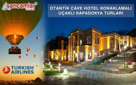 Sarıçamlar Turizm'den Erken Rezervasyona Özel Kapadokya Gezisi, Gidiş-Dönüş Uçak Bileti, MDC Cave Hotel'de Konaklama, Eğlence Paketleri