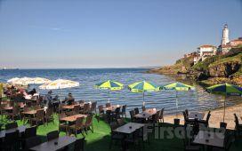 Rumeli Feneri Yalçınkaya Restaurant'ta Denize Karşı Serpme Köy Kahvaltısı Keyfi