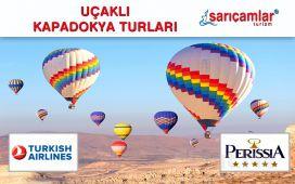 Sarıçamlar Turizm'den Erken Rezervasyona Özel Kapadokya Gezisi, Gidiş-Dönüş Uçak Bileti, 5* Otel'de Konaklama, Eğlence Paketleri
