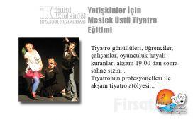 İstanbul Kumpanya'sından Yetişkinler İçin Meslek Üstü Tiyatro Eğitimi!