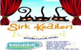 """Birdirbir Çocuk Tiyatrosu'ndan Cevahir AVM Fun Lab Çocuk Sahnesi'nde """"SİRK KEDİLERİ"""" Tiyatro Oyunu!"""