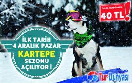 Kış Cenneti Kartepe'ye Gidiyoruz! Tur Dünya'sından Öğle Yemeği Dahil Günübirlik Kartepe Kayak Turu! (Haftanın Hergünü Hareketli!)