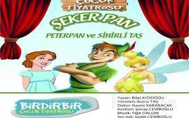 """Birdirbir Çocuk Tiyatrosu'ndan Cevahir AVM Fun Lab Çocuk Sahnesi'nde """"PETER PAN"""" Tiyatro Oyunu!"""