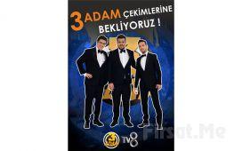 Oğuzhan Koç, Eser Yenenler ve İbrahim Büyükak'ın Sunduğu ''3 Adam'' Programına 2 Kişilik Giriş Bileti!