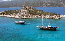 Halikarnas İskeleden Hareketle Tam Gün Yemekli Bodrum Tekne Turu!