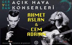 3 Haziran'da İzmir Kültür Park Açık Hava Tiyatrosu'nda Cem Adrian ve Ahmet Aslan Konser Giriş Bileti!