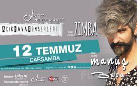 Beyoğlu Sanat Performance'ta 12 Temmuz'da MANUŞ BABA Açık Hava Konseri Giriş Bileti!