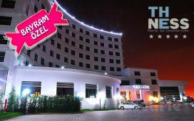 5 Yıldızlı The Ness Thermal Otel'de 1 kişi YP Plus Konaklama + Açık Havuz + Termal Havuz + SPA veya Kese & Köpük + Masaj Seçenekleri!