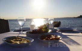 İstanbul Yelken Kulübü Kadıköy'de Denize Sıfır İskelede Balık Menü!