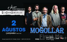 Beyoğlu Sanat Performance'ta 2 Ağustos'ta MOĞOLLAR Açık Hava Konseri Giriş Bileti!