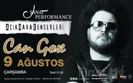Beyoğlu Sanat Performance'ta 9 Ağustos'ta CAN GOX Açık Hava Konseri Giriş Bileti!