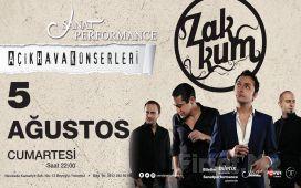Beyoğlu Sanat Performance'ta 5 Ağustos'ta ZAKKUM Açık Hava Konseri Giriş Bileti!