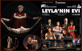 """Zülfü Livaneli'nin Çok Satan Romanı'ndan uyarlanan """"Leyla'nın Evi"""" Tiyatro Oyun Bileti!"""