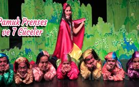 """Ünlü Masal Klasiği """"Pamuk Prenses ve Yedi Cüceler"""" Çocuk Tiyatro Oyun Bileti!"""