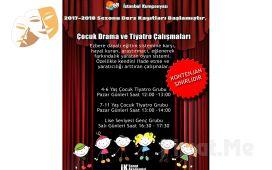 Çocuğunuzun Yeteneklerini Keşfedin İstanbul Kumpanya'sından Çocuklar İçin 1 Aylık Yaratıcı Drama ve Tiyatro Eğitimi