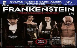 """Cansel Elçin, Kerem Alışık ve Deniz Uğur'un Rol Aldığı """"Frankenstein"""" Tiyatro Oyun Bileti!"""