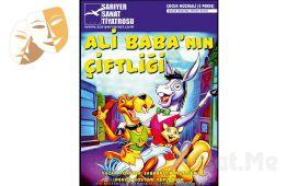 """Çocuklarınız için """"ALİ BABA'NIN ÇİFTLİĞİ"""" Tiyatro Oyun Bileti!"""