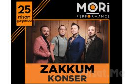 Mori Performance'da 25 Nisan'da Zakkum Konser Bileti