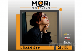 Mori Performance'ta 21 Eylül'de Leman Sam Konser Bileti
