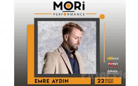 Mori Performance'ta 22 Eylül'de Emre Aydın Konser Bileti