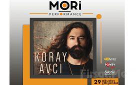 Mori Performance'ta 29 Ağustos'ta Koray Avcı Konser Bileti