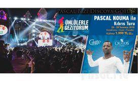 Pascal Nouma'yla Uçak Bileti ve Tam Pansiyon Plus Konaklama Dahil Kıbrıs Cratos'ta Eğlence Turu