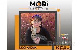 Mori Performance'da 19 Eylül'de İlkay Akkaya Konser Bileti