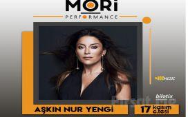 Mori Performance'ta 17 Kasım'da Aşkın Nur Yengi Konser Bileti