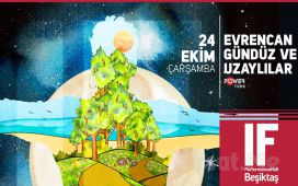 IF Performance Beşiktaş'ta 24 Ekim'de Evrencan Gündüz ve Uzaylılar Konser Bileti