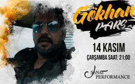 Beyoğlu Sanat Performance'ta 14 Kasım'da Gökhan Pars Konser Bileti