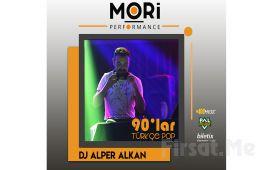 Mori Performance'da Her Perşembe DJ Alper Alkan ile 90'lar Türkçe Pop Gecesi Konser Biletii