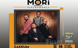 Mori Performance'da 18 Ocak'ta Zakkum Konser Bileti