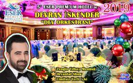 Büyükçekmece Eser Premium Otel'de Canlı Müzik Eşliğinde Limitsiz İçecek Dahil Yılbaşı Gala Programı ve Konaklama