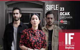 IF Performance Beşiktaş'ta 23 Ocak'ta 'Sufle' Konser Bileti