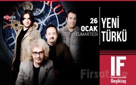 IF Performance Hall Beşiktaş'ta 26 Ocak'ta Yeni Türkü Konser Bileti