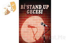 Usta Komedyenlerden Her Cumartesi Eğlence Dolu 'Bi'Stand Up Gecesi' Gösteri Bileti
