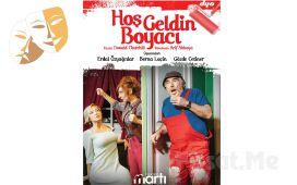 Erdal Özyağcılar, Berna Laçin, Gözde Çetiner, Hoşgeldin Boyacı Tiyatro Oyun Bileti
