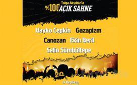 IF Performance Hall Beşiktaş'ta 20 Şubat'ta Tolga Akyıldız'la %100 Açık Sahne Konser Bileti