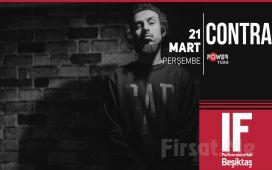 IF Performance Hall Beşiktaş'ta 21 Mart'ta 'Contra' Konser Bileti